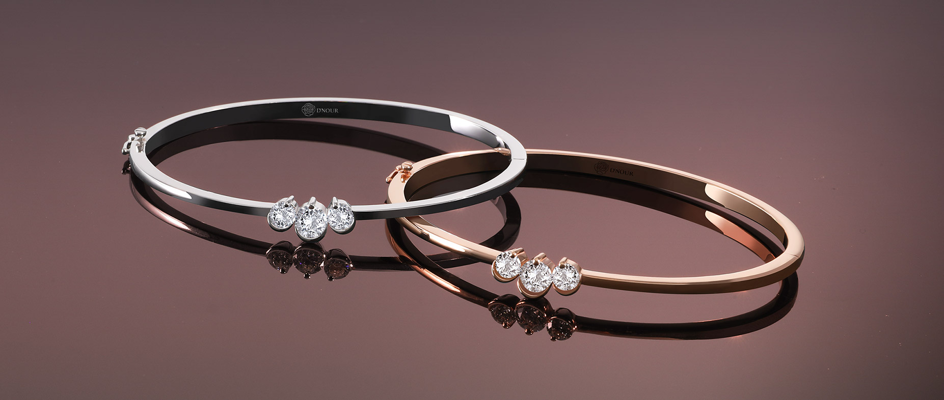 premium diamond bangle
