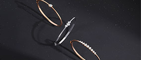 moon diamond jewelry collection posters