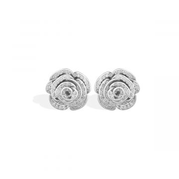 Earrings for women with 0.34 Cts diamonds