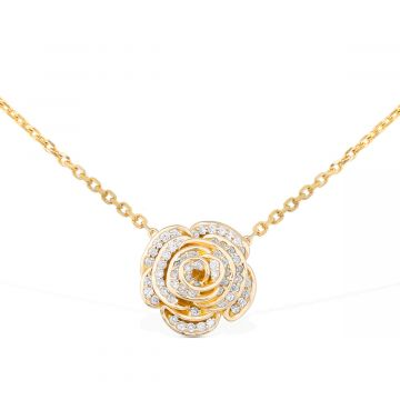 Necklace for women 18k yellow gold
