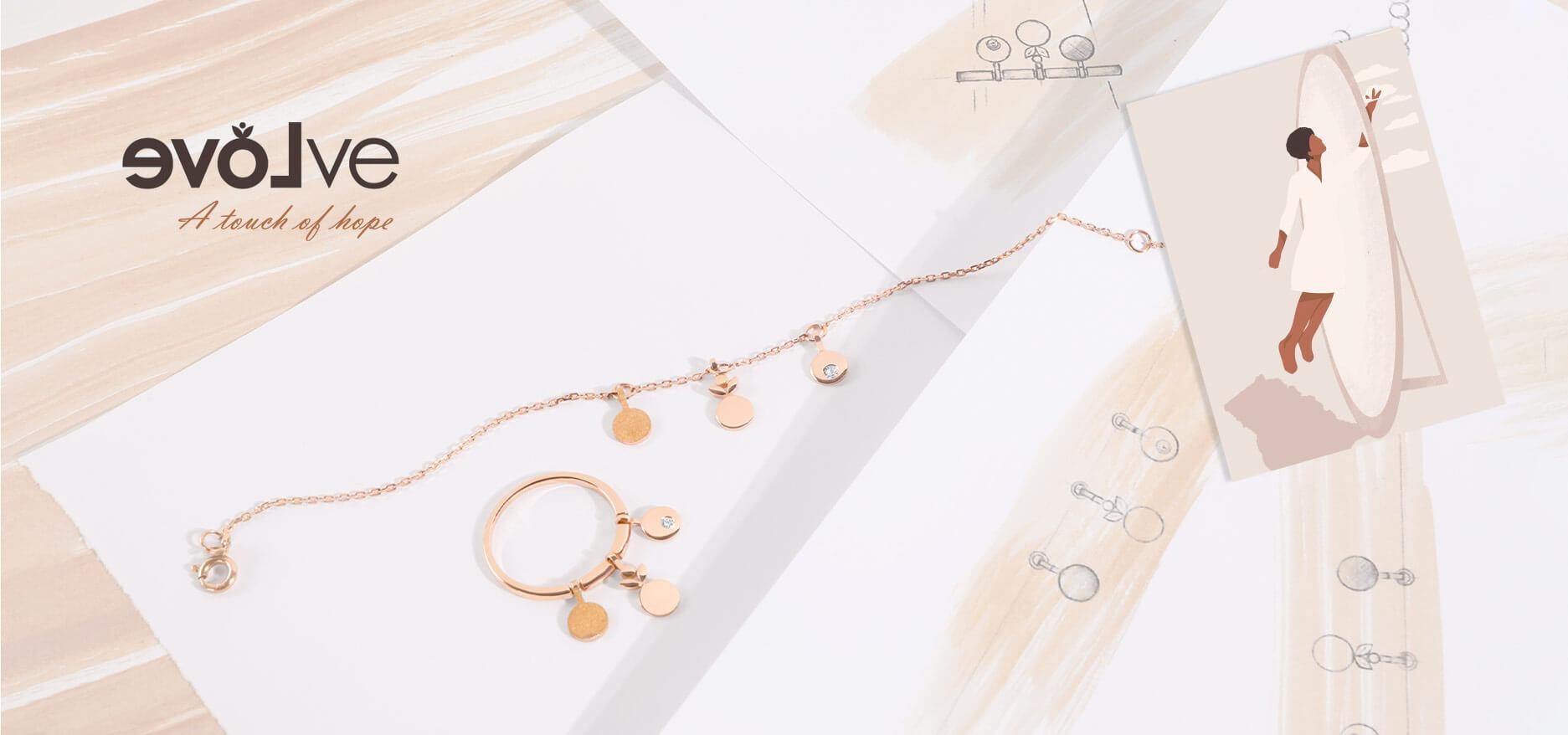 evolve diamond jewelry collection